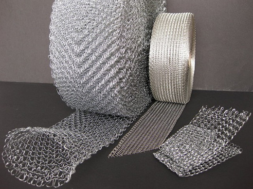 knitted wire mesh in petroleum  chemicals  metallurgy